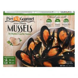 Mussels Butter Garlic Sauce 16oz