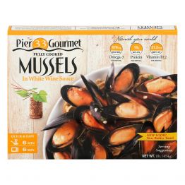 Mussels White Wine Sauce 16oz