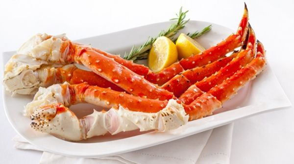 Frozen Alaskan King Crab Legs
